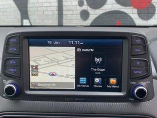 2019 Hyundai Kona OS.3 MY20 Highlander D-CT AWD Chalk White & Black Roof 7 Speed