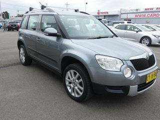 2013 Skoda Yeti 5L MY13 112TSI DSG Silver 6 Speed Sports Automatic Dual Clutch Wagon.