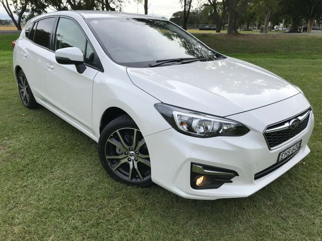 Pre-Owned Subaru Impreza G5 MY17 2.0i-L CVT AWD South Grafton, 2016 Subaru Impreza G5 MY17 2.0i-L CVT AWD White 7 Speed Constant Variable Hatchback