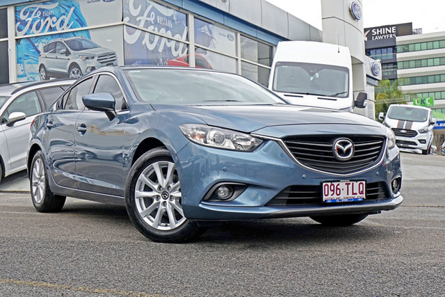 Used Mazda 6 GJ1031 Touring SKYACTIV-Drive, 2013 Mazda 6 GJ1031 Touring SKYACTIV-Drive Blue 6 Speed Sports Automatic Sedan