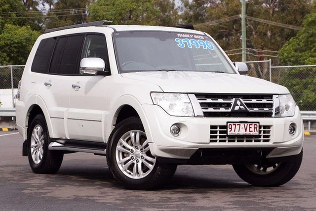 Used Mitsubishi Pajero NW MY13 Exceed, 2013 Mitsubishi Pajero NW MY13 Exceed White 5 Speed Sports Automatic Wagon