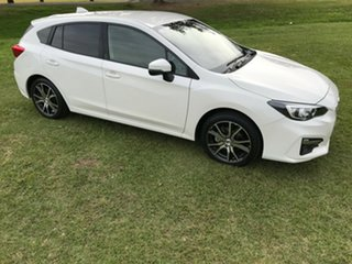 2016 Subaru Impreza G5 MY17 2.0i-L CVT AWD White 7 Speed Constant Variable Hatchback
