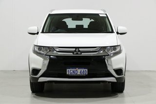 2018 Mitsubishi Outlander ZL MY19 ES 7 Seat (AWD) White Continuous Variable Wagon.
