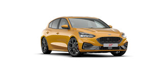 2020 Ford Focus ST Orange Fury 7 Speed Automatic Hatchback