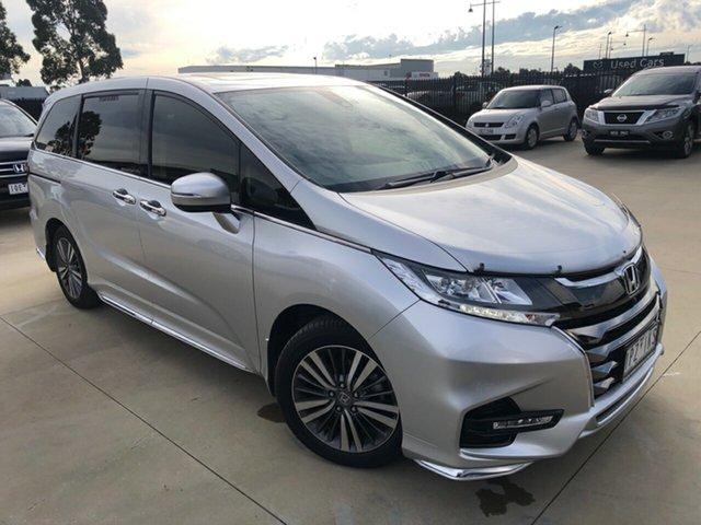 Used Honda Odyssey RC MY19 VTi-L, 2019 Honda Odyssey RC MY19 VTi-L Super Platinum Silver 7 Speed Constant Variable Wagon