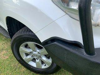 2015 Toyota Landcruiser Prado GDJ150R GXL White 6 Speed Manual Wagon.