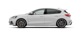 2020 Ford Focus SA 2020.25MY ST Frozen White 7 Speed Automatic Hatchback.