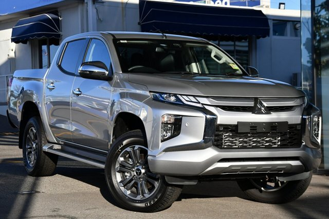 New Mitsubishi Triton MR MY21 GLS Double Cab Beaudesert, 2021 Mitsubishi Triton MR MY21 GLS Double Cab Sterling Silver 6 Speed Sports Automatic Utility