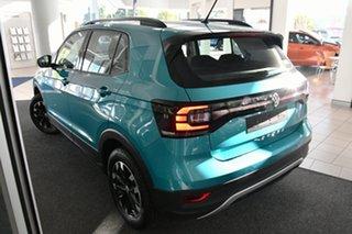 2021 Volkswagen T-Cross C1 MY21 85TSI DSG FWD Life Makena Turquoise Metallic 7 Speed.