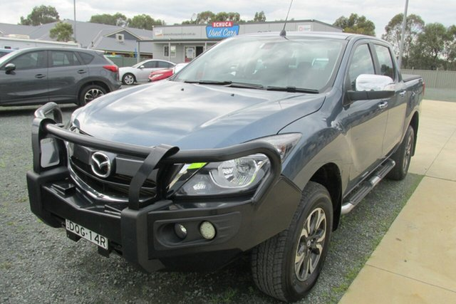 Used Mazda BT-50 UR0YG1 GT, 2017 Mazda BT-50 UR0YG1 GT Blue 6 Speed Sports Automatic Utility