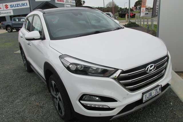 Used Hyundai Tucson TLE2 MY18 Highlander AWD, 2017 Hyundai Tucson TLE2 MY18 Highlander AWD White 6 Speed Sports Automatic Wagon