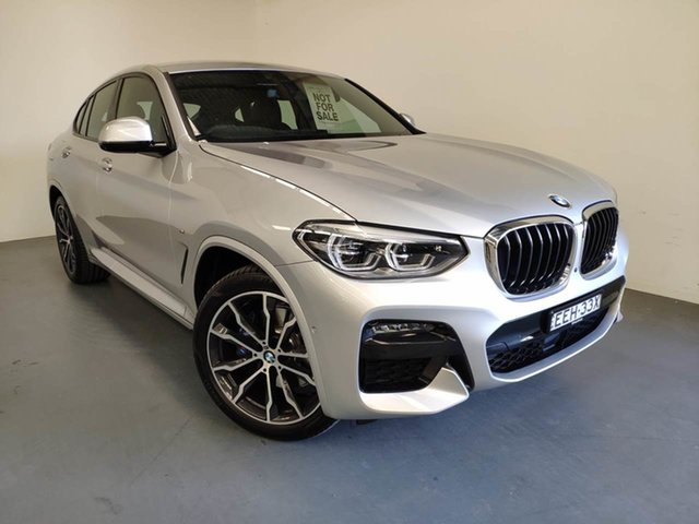Used BMW X4 G02 xDrive30i Coupe Steptronic M Sport, 2019 BMW X4 G02 xDrive30i Coupe Steptronic M Sport Glacier Silver 8 Speed Sports Automatic Wagon