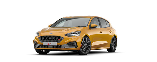 New Ford Focus SA 2020.25MY ST Dandenong, 2020 Ford Focus SA 2020.25MY ST Orange Fury 7 Speed Automatic Hatchback