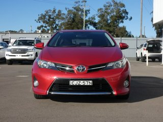 2012 Toyota Corolla ZRE182R Ascent Sport S-CVT Red 7 Speed Constant Variable Hatchback.