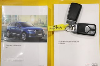2016 Audi Q7 4M MY17 3.0 TDI Quattro (160kW) White 8 Speed Automatic Tiptronic Wagon