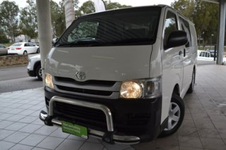 2009 Toyota HiAce TRH201R MY10 LWB White 5 Speed Manual Van.
