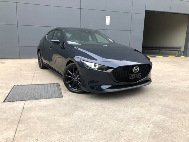 New Mazda 3 BP2HLA G25 SKYACTIV-Drive Astina, 2020 Mazda 3 BP2HLA G25 SKYACTIV-Drive Astina Deep Crystal Blue 6 Speed Sports Automatic Hatchback