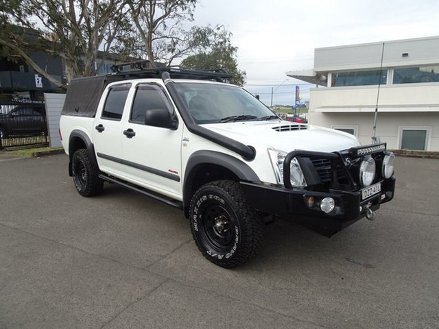 Used Holden Rodeo RA MY08 LX Crew Cab, 2007 Holden Rodeo RA MY08 LX Crew Cab White 5 Speed Manual Utility