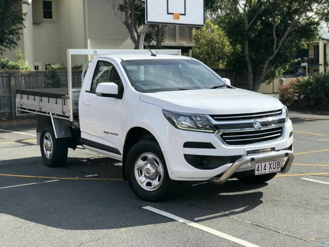 Used Holden Colorado RG MY18 LS, 2017 Holden Colorado RG MY18 LS White 6 Speed Sports Automatic Cab Chassis