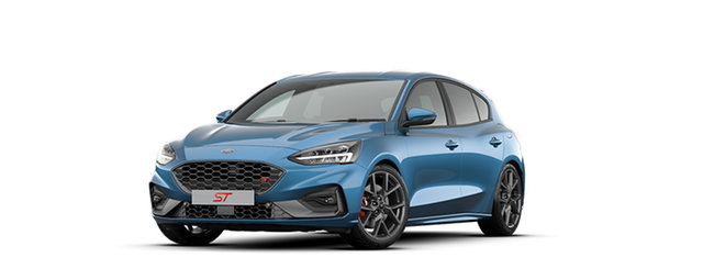 New Ford Focus SA 2020.25MY ST Midland, 2020 Ford Focus SA 2020.25MY ST Ford Performance Blue 7 Speed Automatic Hatchback