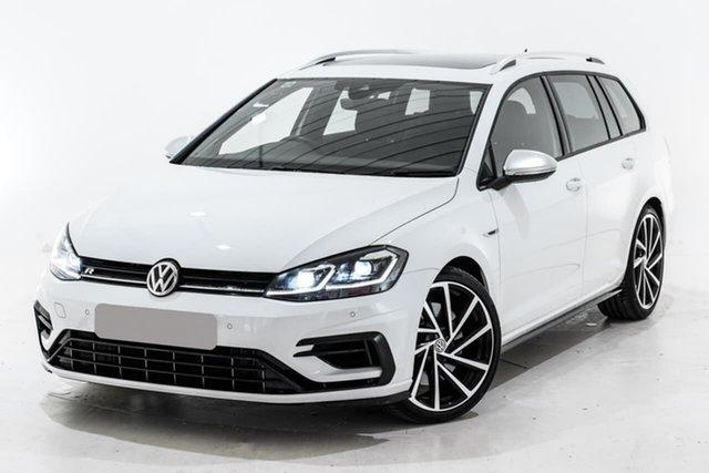 Used Volkswagen Golf 7.5 MY19.5 R DSG 4MOTION, 2019 Volkswagen Golf 7.5 MY19.5 R DSG 4MOTION White 7 Speed Sports Automatic Dual Clutch Wagon