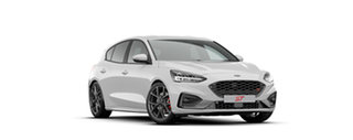 2020 Ford Focus SA 2020.25MY ST Frozen White 7 Speed Automatic Hatchback