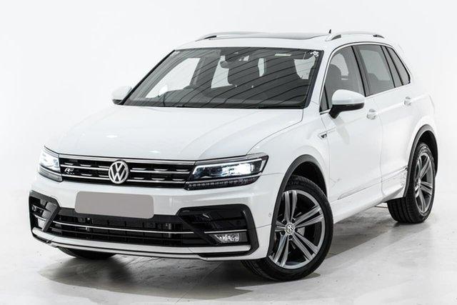 Used Volkswagen Tiguan 5N MY19.5 132TSI DSG 4MOTION R-Line Edition, 2019 Volkswagen Tiguan 5N MY19.5 132TSI DSG 4MOTION R-Line Edition White 7 Speed