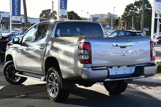 2020 Mitsubishi Triton MR MY21 GLS Double Cab Sterling Silver 6 Speed Sports Automatic Utility.