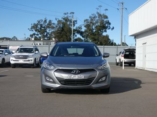 2012 Hyundai i30 GD Active Silver 6 Speed Sports Automatic Hatchback.