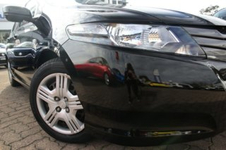 2011 Honda City GM VTi Black 5 Speed Automatic Sedan.