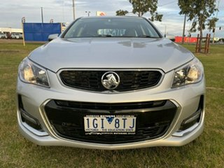 2015 Holden Commodore VF MY15 SV6 Sportwagon Silver 6 Speed Sports Automatic Wagon