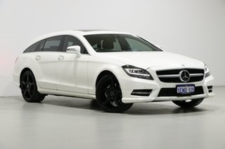 2014 Mercedes-Benz CLS 218 MY13 Update 250 CDI Avantgarde 10th Ed Diamond White 7 Speed.