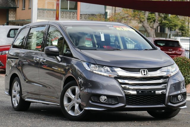 New Honda Odyssey RC MY20 VTi Newstead, 2020 Honda Odyssey RC MY20 VTi Modern Steel 7 Speed Constant Variable Wagon