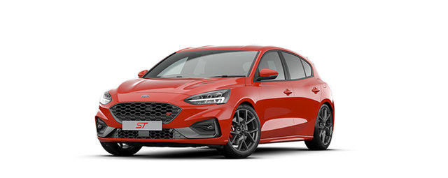 New Ford Focus SA 2020.25MY ST, 2020 Ford Focus SA 2020.25MY ST Race Red 7 Speed Automatic Hatchback