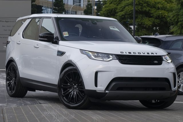 Demo Land Rover Discovery Series 5 L462 MY20 HSE Luxury Newstead, 2020 Land Rover Discovery Series 5 L462 MY20 HSE Luxury Yulong White 8 Speed Sports Automatic Wagon