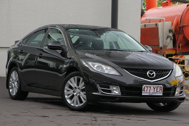 Used Mazda 6 GH1051 MY09 Classic, 2009 Mazda 6 GH1051 MY09 Classic Dark Brown 5 Speed Sports Automatic Hatchback