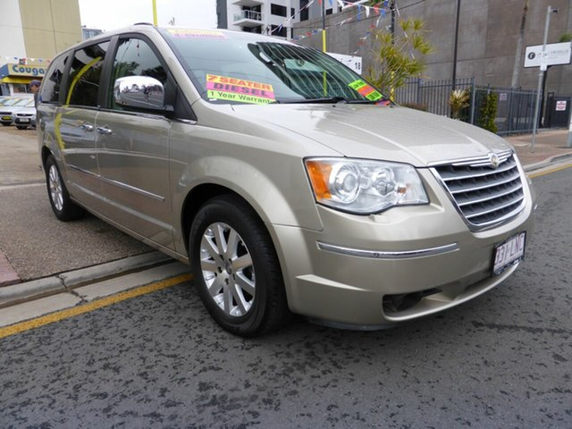 Used Chrysler Grand Voyager RT Limited, 2008 Chrysler Grand Voyager RT Limited Gold 6 Speed Automatic Wagon