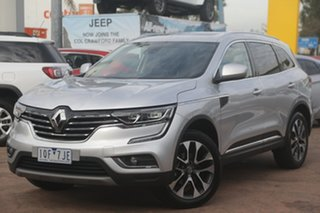 2018 Renault Koleos XZG MY19 Intens X-Tronic (4x2) Silver Continuous Variable Wagon.