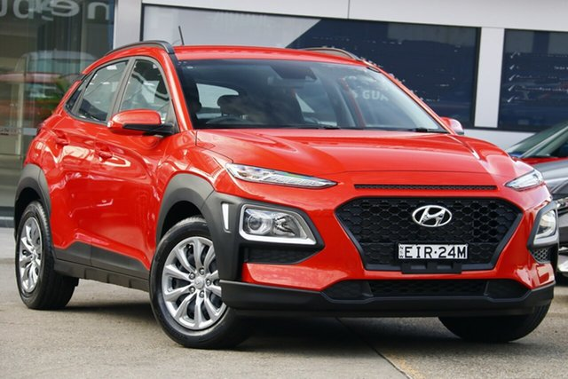 Used Hyundai Kona OS.3 MY20 GO (FWD), 2019 Hyundai Kona OS.3 MY20 GO (FWD) Orange 6 Speed Automatic Wagon