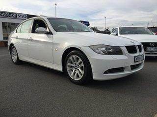 2008 BMW 3 Series E90 MY08 320i Steptronic Executive White 6 Speed Sports Automatic Sedan.