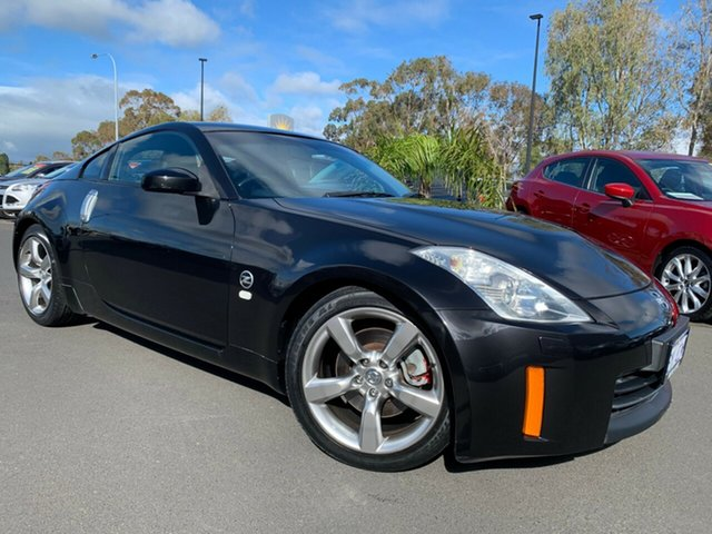 Used Nissan 350Z Z33 MY07 Touring, 2007 Nissan 350Z Z33 MY07 Touring Black 5 Speed Sports Automatic Coupe