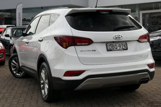 2015 Hyundai Santa Fe DM Series II (DM3) Elite CRDi (4x4) White 6 Speed Automatic Wagon.