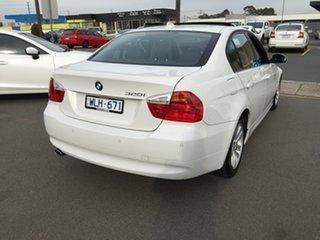 2008 BMW 3 Series E90 MY08 320i Steptronic Executive White 6 Speed Sports Automatic Sedan