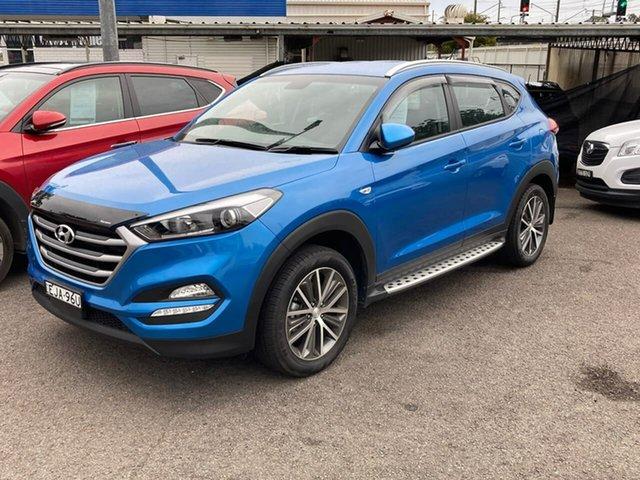 Used Hyundai Tucson TL MY17 Active X 2WD, 2017 Hyundai Tucson TL MY17 Active X 2WD Blue 6 Speed Sports Automatic Wagon