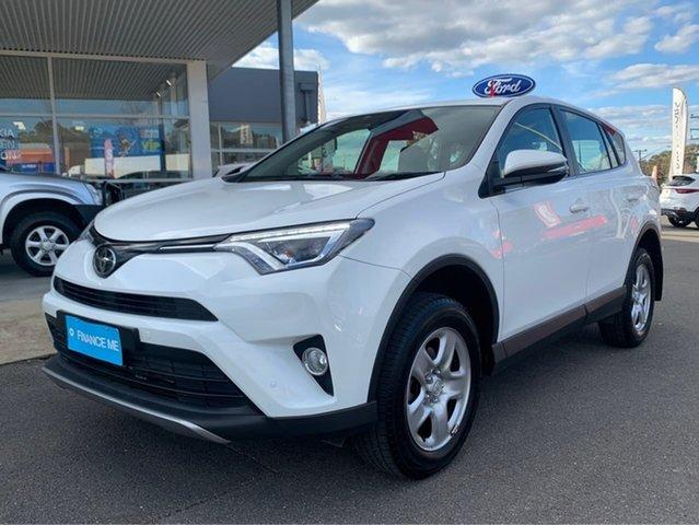 Used Toyota RAV4  GX, 2018 Toyota RAV4 GX White Sports Automatic Wagon