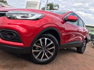 2019 Renault Kadjar Zen Red 7 Speed Auto Dual Clutch Wagon.