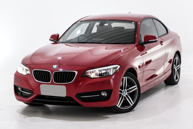 Used BMW 2 Series F22 220i Sport Line, 2015 BMW 2 Series F22 220i Sport Line Red 8 Speed Sports Automatic Coupe