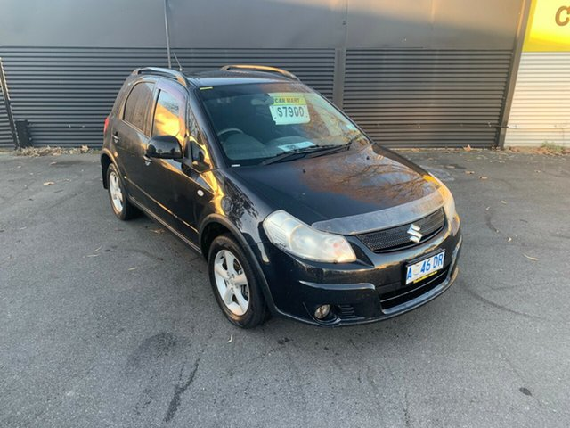 Used Suzuki SX4 GYB , 2008 Suzuki SX4 GYB Black 5 Speed Manual Hatchback