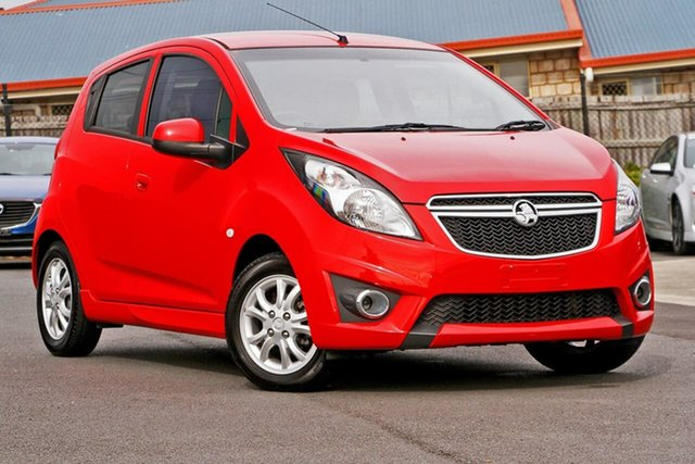 Used Holden Barina Spark MJ MY15 CD, 2015 Holden Barina Spark MJ MY15 CD Red 5 Speed Manual Hatchback