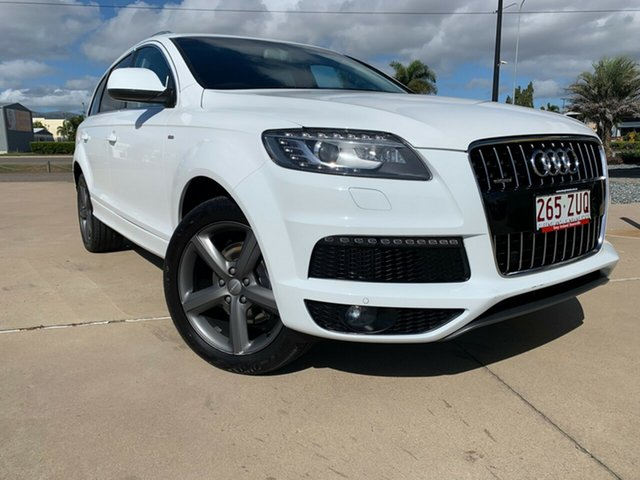 Used Audi Q7 MY13 TDI Tiptronic Quattro, 2013 Audi Q7 MY13 TDI Tiptronic Quattro White 8 Speed Sports Automatic Wagon